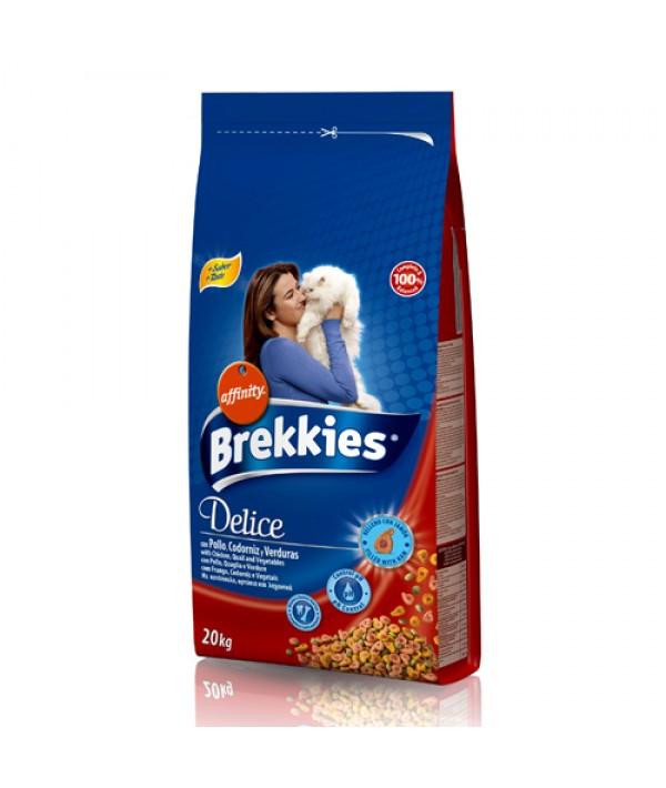 Brekkies Delice Chicken - 20 kg