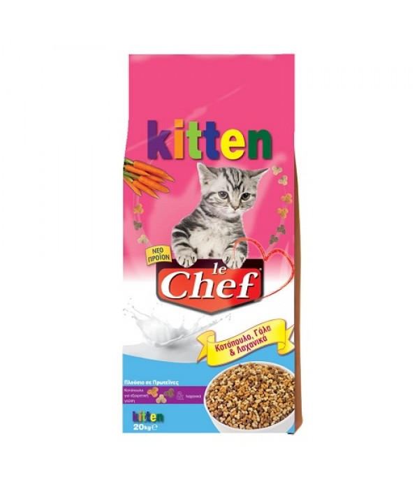 Le Chef Kitten - 20 kg