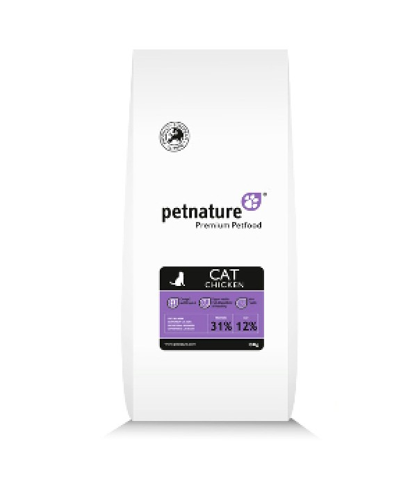 Petnature Cat Chicken - 10 kg
